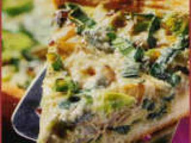 Recept 770. Quiche met witloof en reblochonkaas.